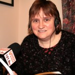 Julie Barker - presenter of the Telling Tales show