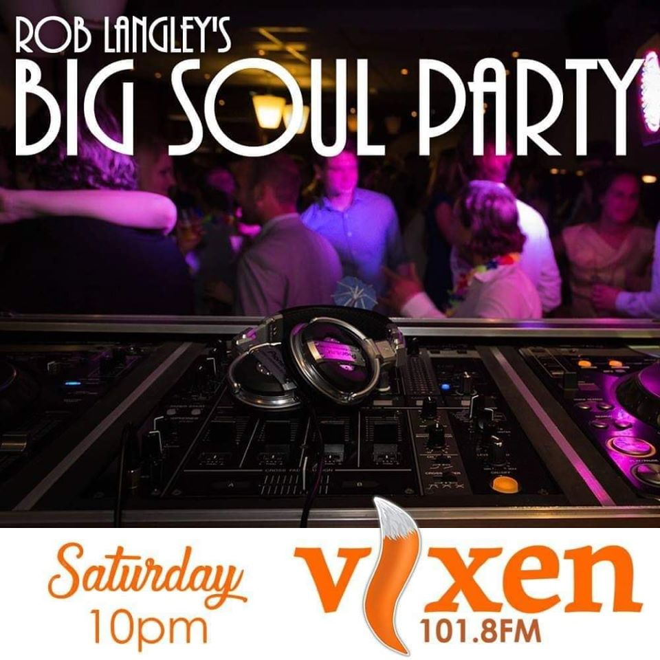 Rob Langley's Big Soul Party promo image